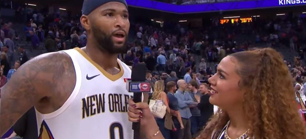NBA: Ogromny pech Cousinsa