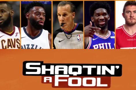 NBA: Kolejna odsłona Shaqtin' A Fool! LeBron i Embiid ponownie gwiazdami odcinka!