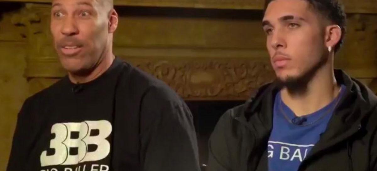 NBA: Bracia Ball chcą zagrać w Europie