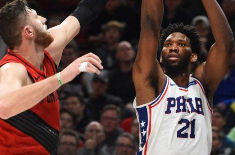 NBA: Słowna zaczepka Nurkicia w kierunku Embiida