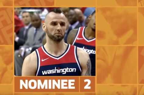 NBA: Przypadkowa sytuacja z Gortatem w Shaqtin A Fool