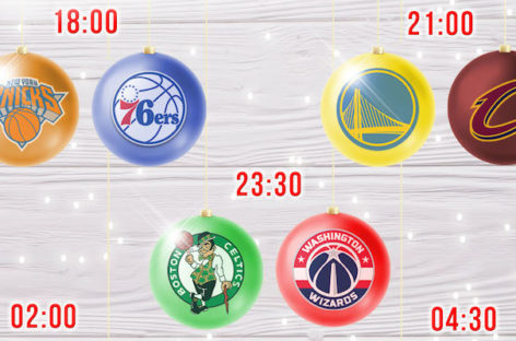 NBA: Świąteczny wieczór z NBA NA ŻYWO!