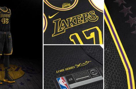 NBA: Nike prezentuje ostatnią odsłonę strojów