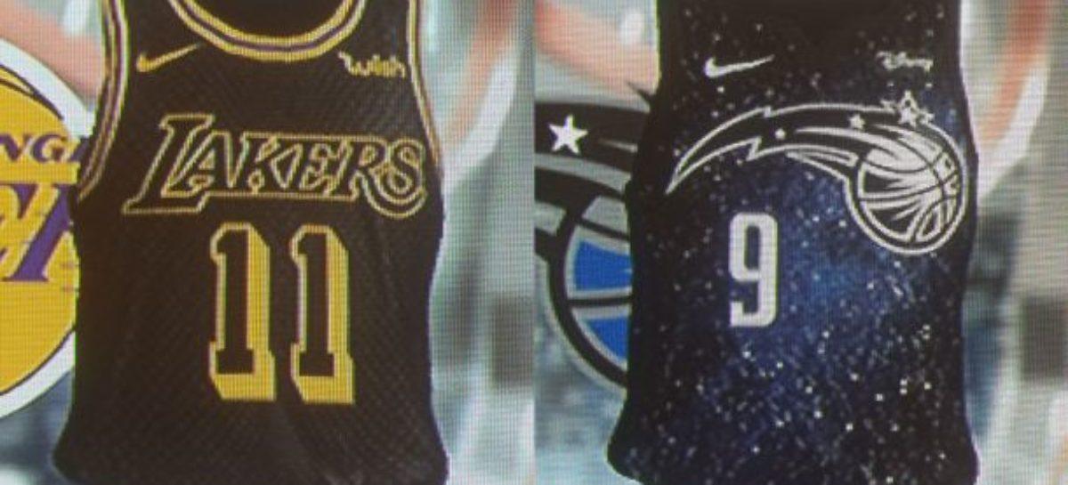 NBA: Wyciekły nowe stroje?