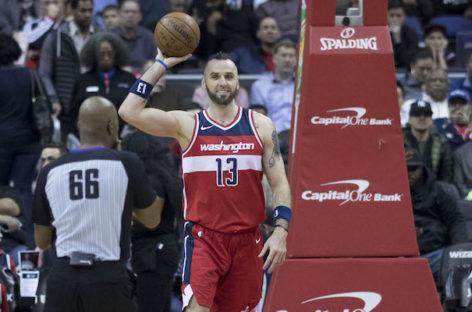 Wyniki NBA: Wizards zmiażdżyli Hawks, 19 minut Gortata