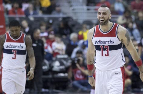 Wyniki NBA: Druga połowa Beala i zwycięstwo Wizards. 10 punktów Gortata