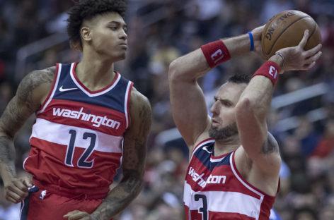 Wyniki NBA: Wizards ograli Embiida i Sixers, double-double Gortata