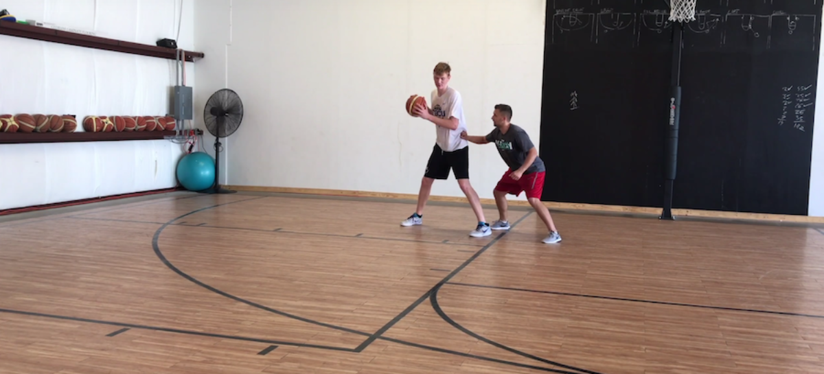 Trening koszykarski: praca z wysokimi