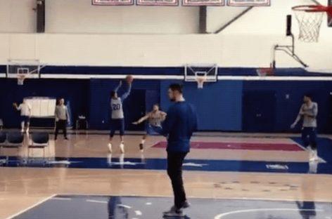 NBA: Fultz nadal ma spore problemy z rzutem
