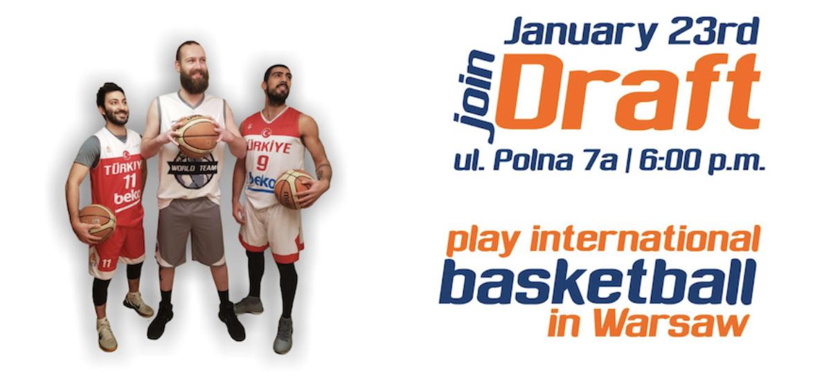 Polish International Basketball League in Warsaw