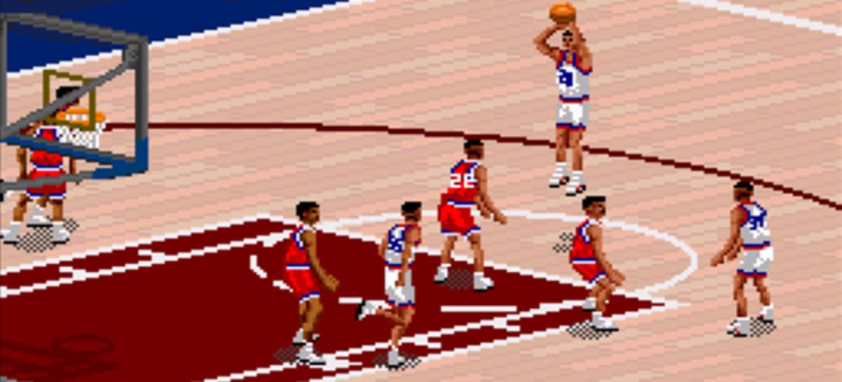Jaka była wirtualna NBA w latach 90-tych?