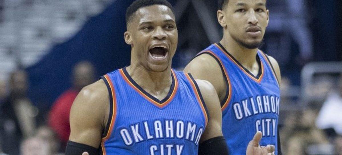 NBA: Westbrook odpycha fana. Jak zareaguje liga?