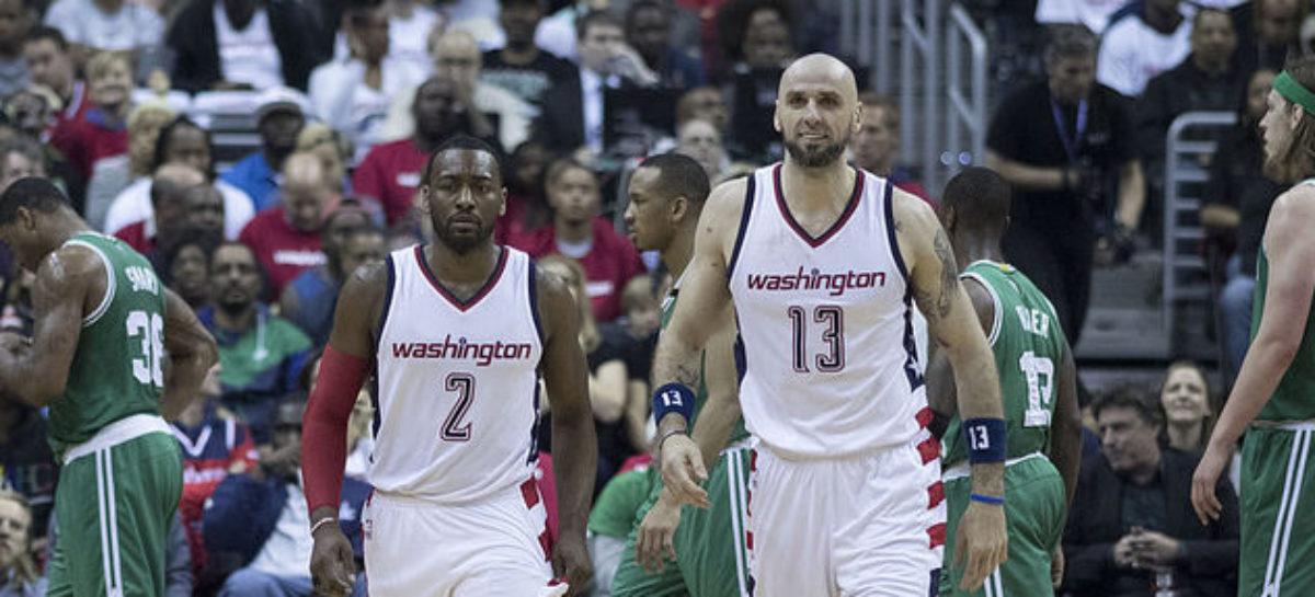 NBA: Spięcie na linii Gortat-Wall