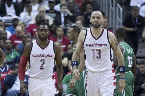 NBA: Wall spotkał się z Gortatem