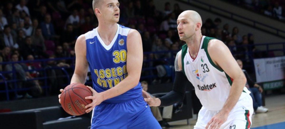 Energa Basket Liga: Asseco znowu górą – Legia wraca na tarczy