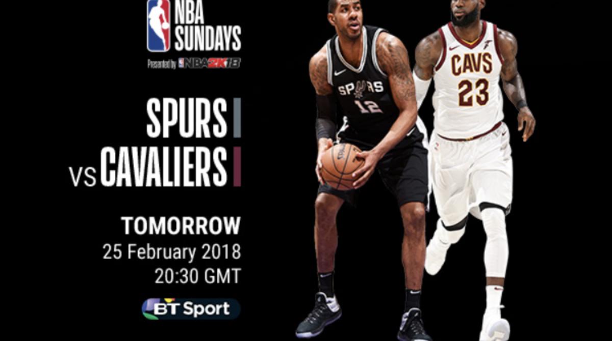 Niedzielny wieczór z NBA zaczynamy już o 19:00, a o 21:30 HIT! Spurs – Cavaliers na Canal+ Sport 2!