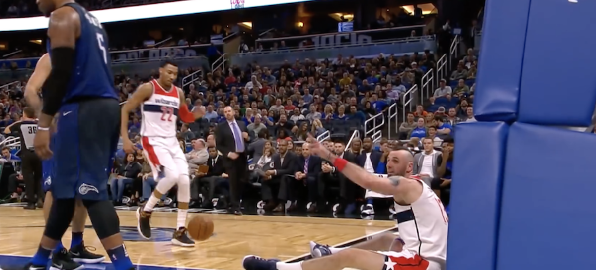Video: Gortat w zestawieniu zabawnych sytuacji tygodnia w NBA