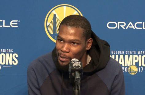 NBA: Warriors shejtowani. Durant już przywykł