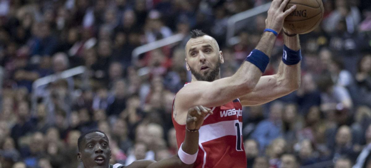 Wyniki NBA: Zmiażdżeni Wizards, 17 minut Gortata