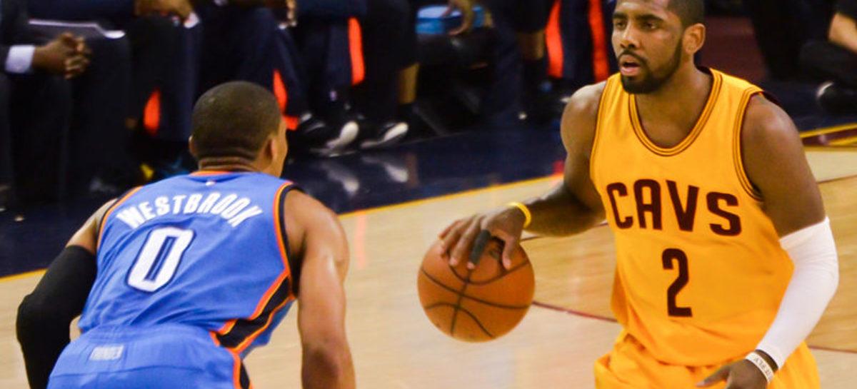 NBA: Kyrie Irving z urazem kolana