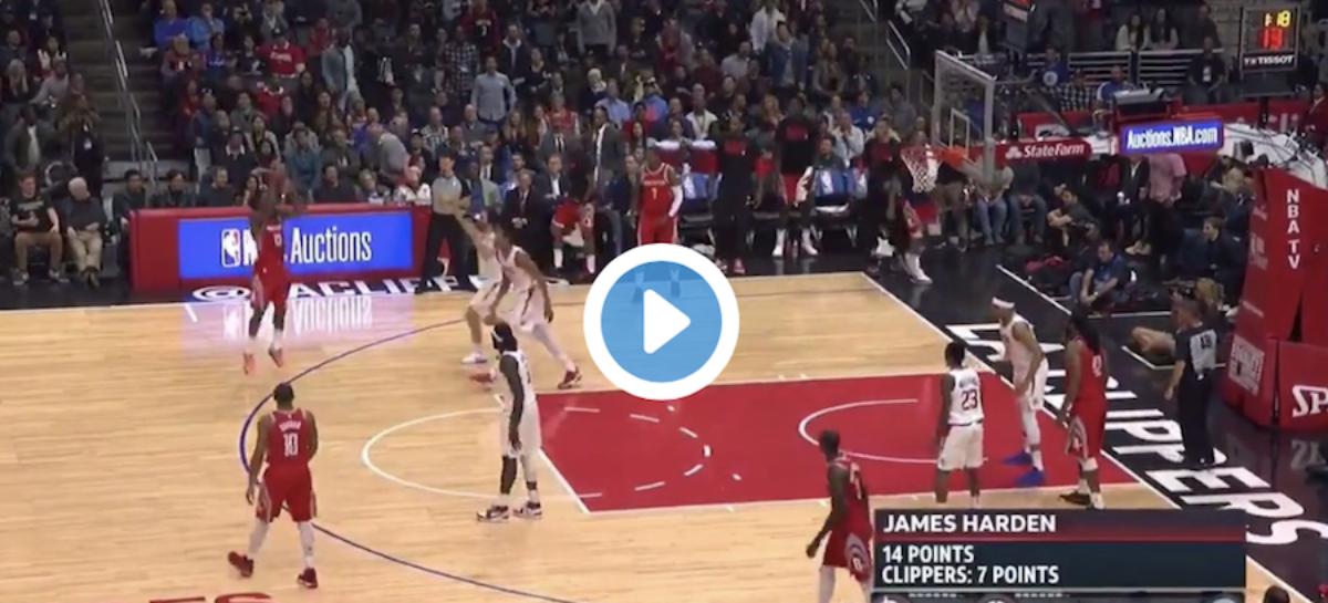 NBA: Harden zniszczył Johnsona. Przesadził?
