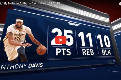 """NBA: Anthony Davis urządził sobie w urodziny """"block party"""""""