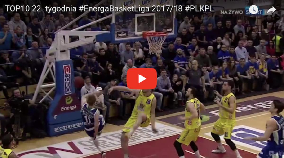 Video: TOP10 Energa Basket Ligi numer 22