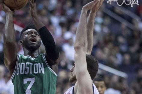 NBA: Groźny upadek Browna