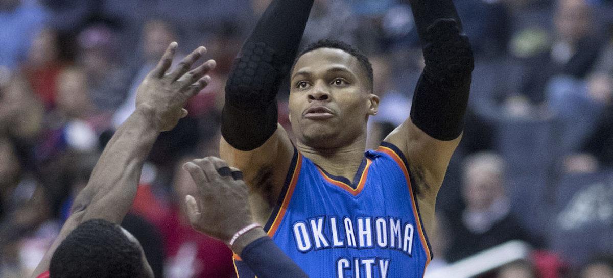 Wyniki NBA: Triple-double Westbrooka, 30 punktów Howarda i przełamanie Hornets