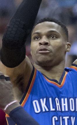 Wyniki NBA: Kings lepsi od Warriors. Triple-double Westbrooka