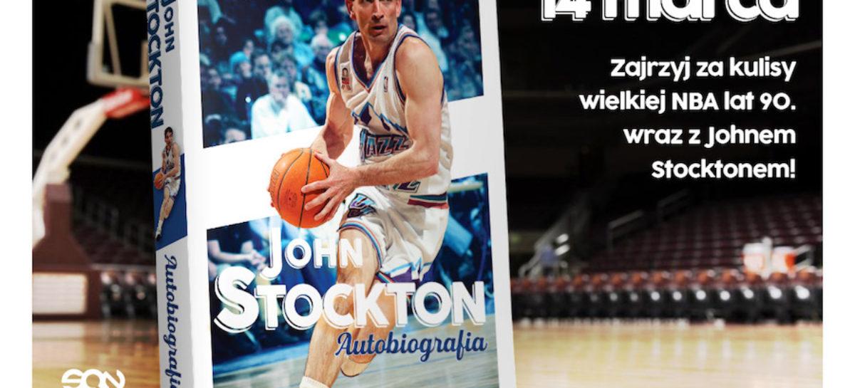 John Stockton i jego historia. Rusza przedsprzedaż autobiografii legendy Utah Jazz!