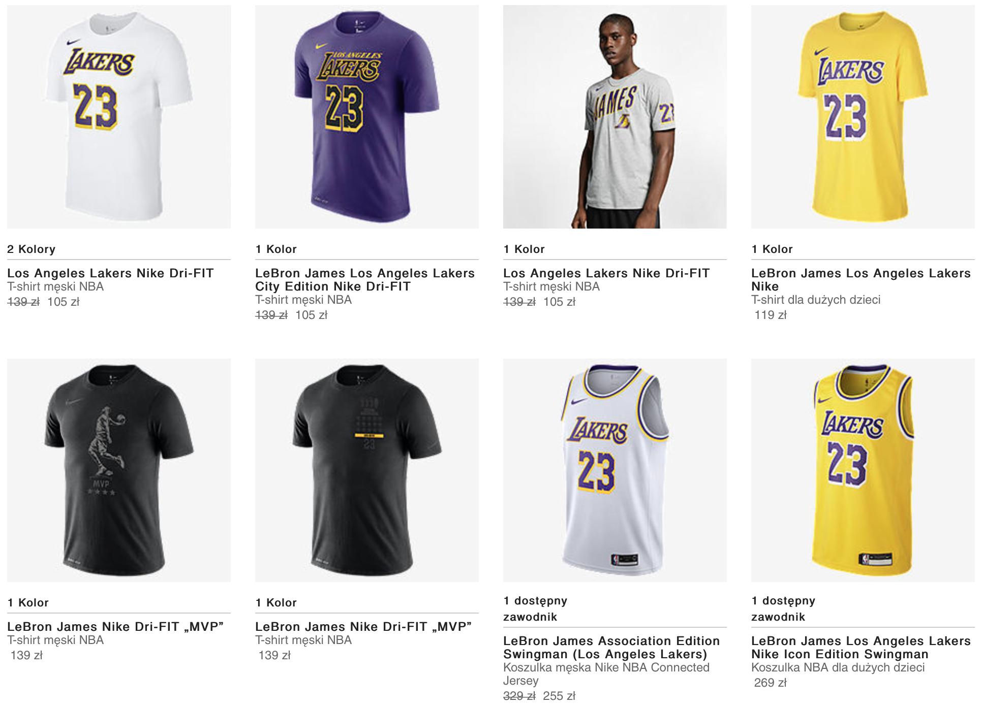 a1a77c17d Koszulki meczowe, t-shirty, spodenki oraz inne produkty NBA znajdziecie w  oficjalnym sklepie Nike – link: http://bit.ly/NBAnike