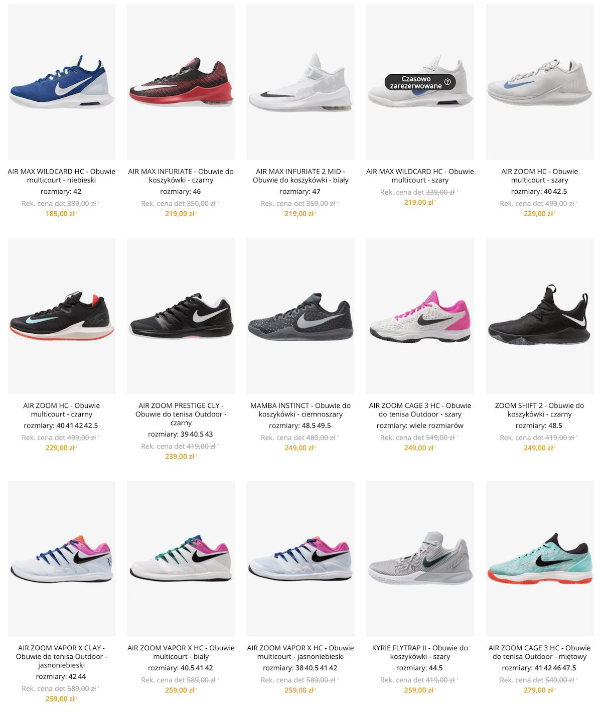 Buty Nike Air MAX taniej | Zalando Lounge PL