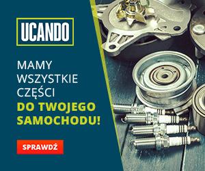 Sklep z częściami samochodowymi Ucando.pl