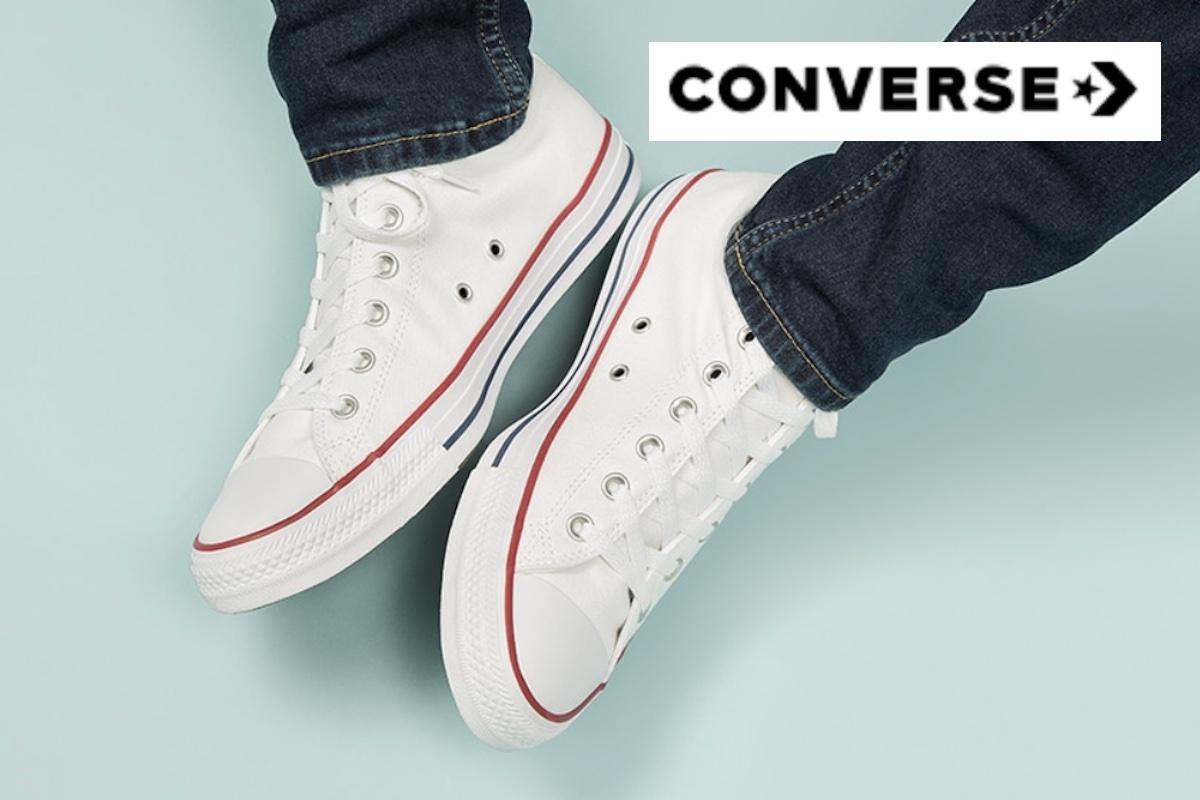 Wyprzedaż butów Converse! Kultowe trampki za połowę ceny