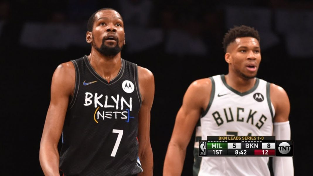 Kevin Durant Giannis